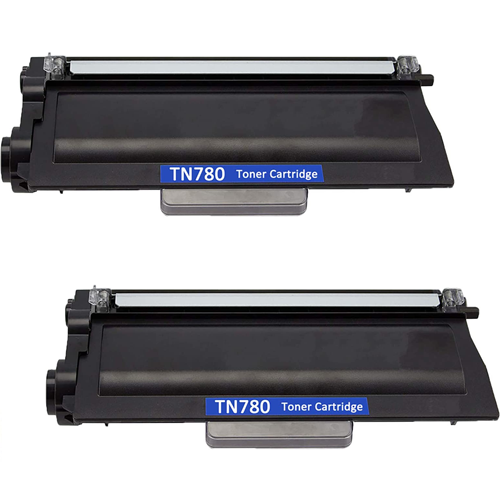 Compatible Brother TN780 Toner Cartridge - 2 Pack