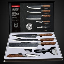 Load image into Gallery viewer, Stainless Steel Kitchen Knives Set