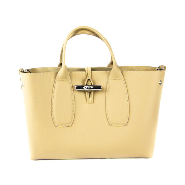 Longchamp Medium Roseau Top Handle Bag