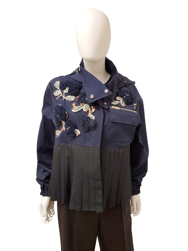 Dior Two Toned Embroidery Jacket