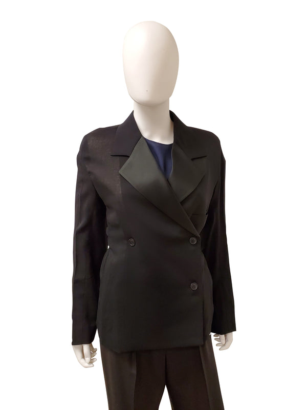 Celine Womens Black Coat