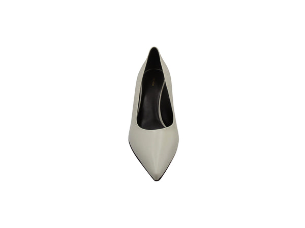 The Row Cone Leather Pump - ACCESSX