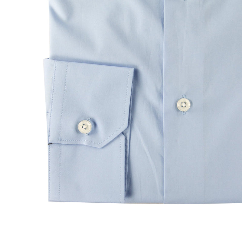 Roberto Cavalli Slim-Fit Embroidered Dress Shirt - ACCESSX