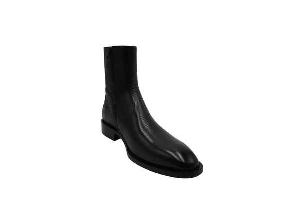 Balenciaga Mens Chrystal Chelsea Boots in Black