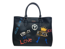 Dolce and Gabbana Mens Leather Royal Briefcase - ACCESSX
