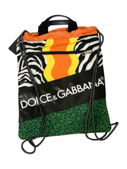 Dolce and Gabbana Mens King Of Love Drawstring Bag - ACCESSX