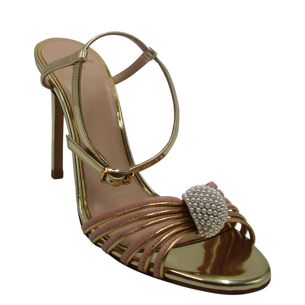 Lanvin Sandal With Bow Jewel