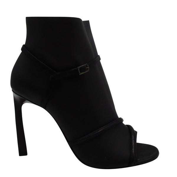 Lanvin Black Strappy Heel
