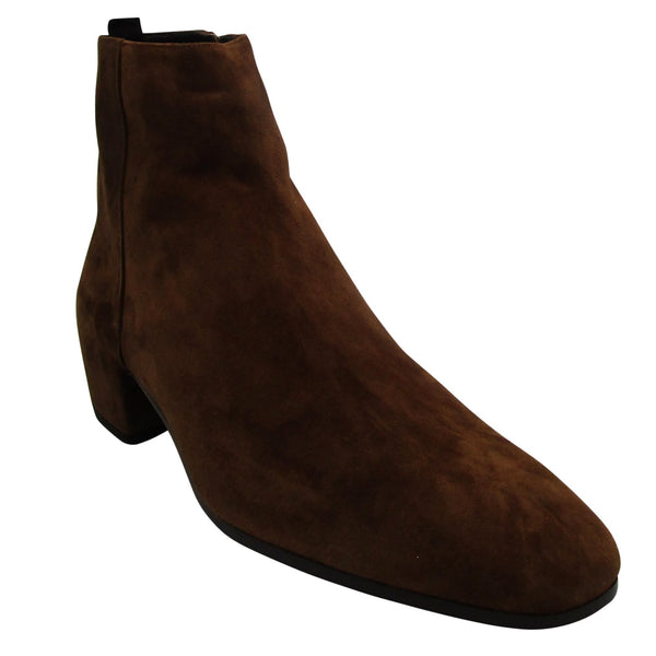 Yves Saint Laurent Suede Ankle Boots