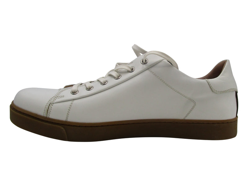 Gianvito Rossi White Leather Sneakers
