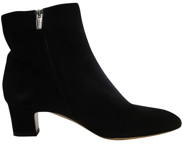 Gianvito Rossi Shoes Black Suede Ankle Boots