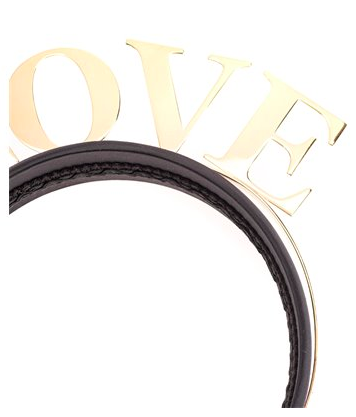 Dolce and Gabbana Womens Love Head Piece - ACCESSX