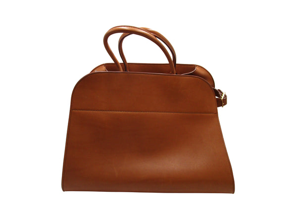 The Row Brown Saddle Bag