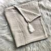 Embroidered Muslin Blanket