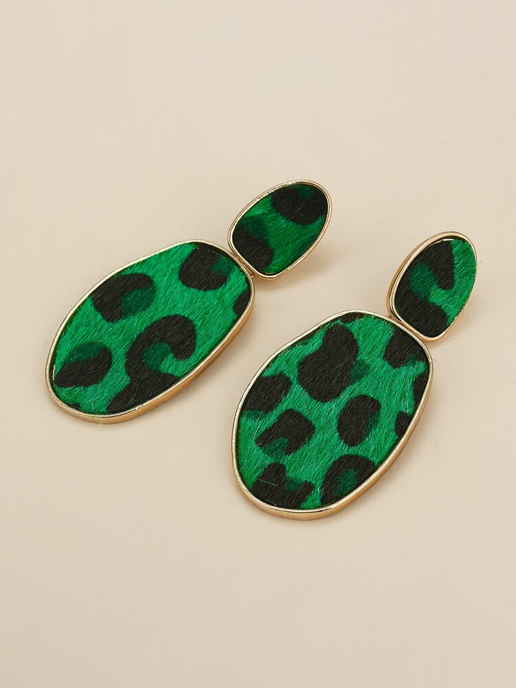 """Cheetah Me Please"" Earrings (Optional Colors)"