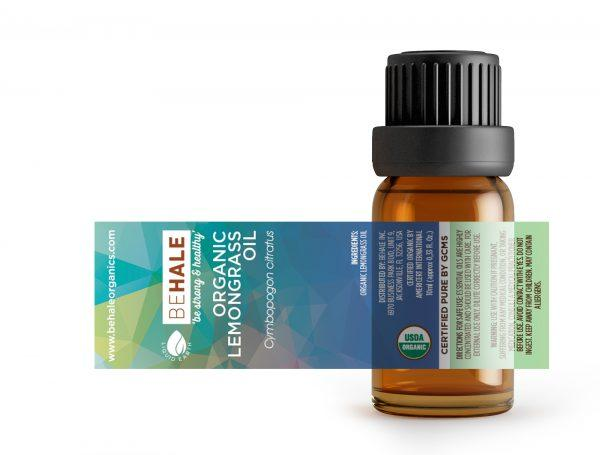 Behale - Lemongrass Essential Oil 10ml - Organic