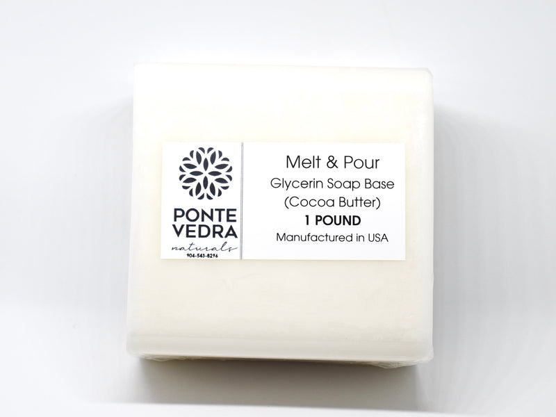 Melt & Pour Glycerin Soap Base (Cocoa Butter)
