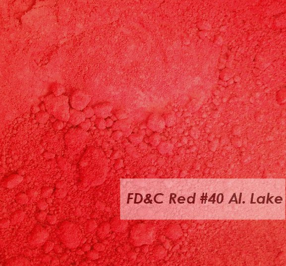 FD&C Red 40 - (Alum Lake)