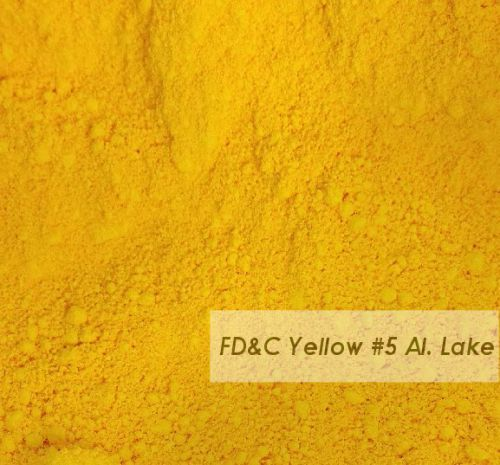 FD&C Yellow 5 - (Alum Lake)