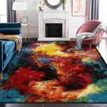 Luxury Multi Color Indoor Outdoor Splash Rug