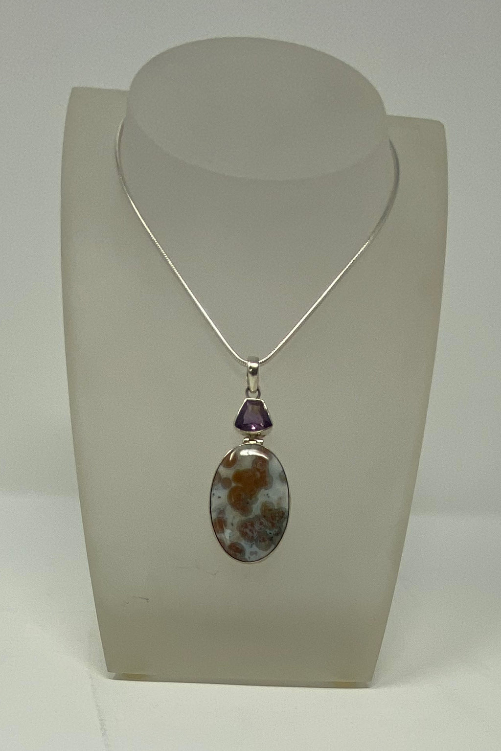 Amethyst and Jasper Necklace
