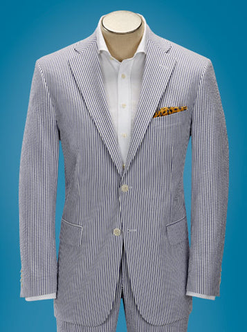 Classic Fit Seersucker Suit Separate
