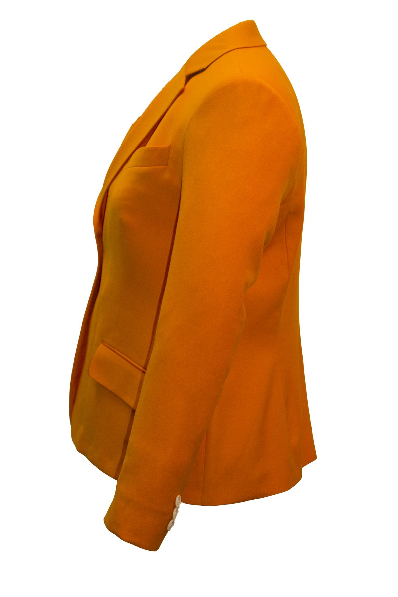 Women's Modern Fit Volunteer Orange Wool Blazer -  Hardwick.com