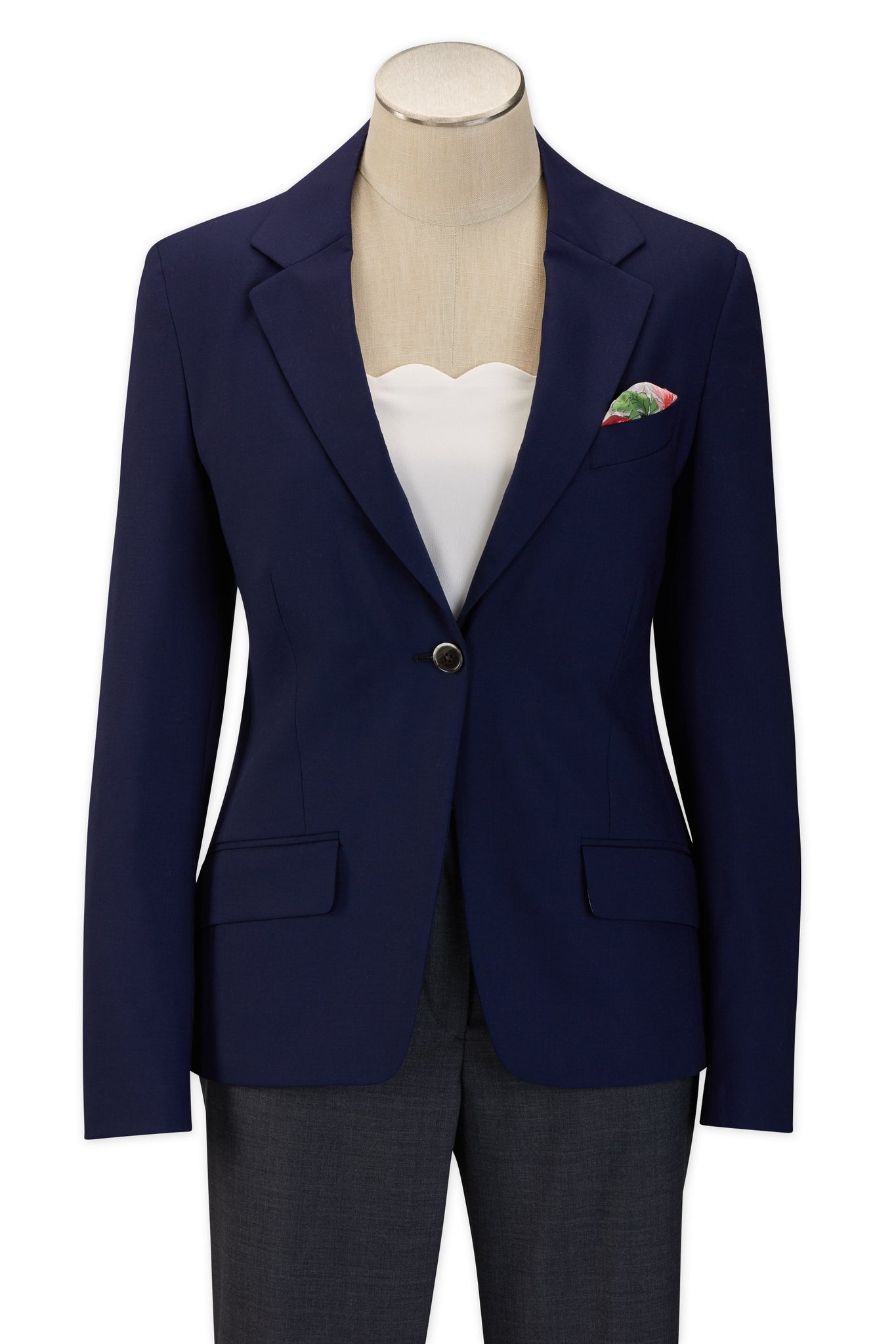 Women's Blue H-Tech Blazer -  Hardwick.com