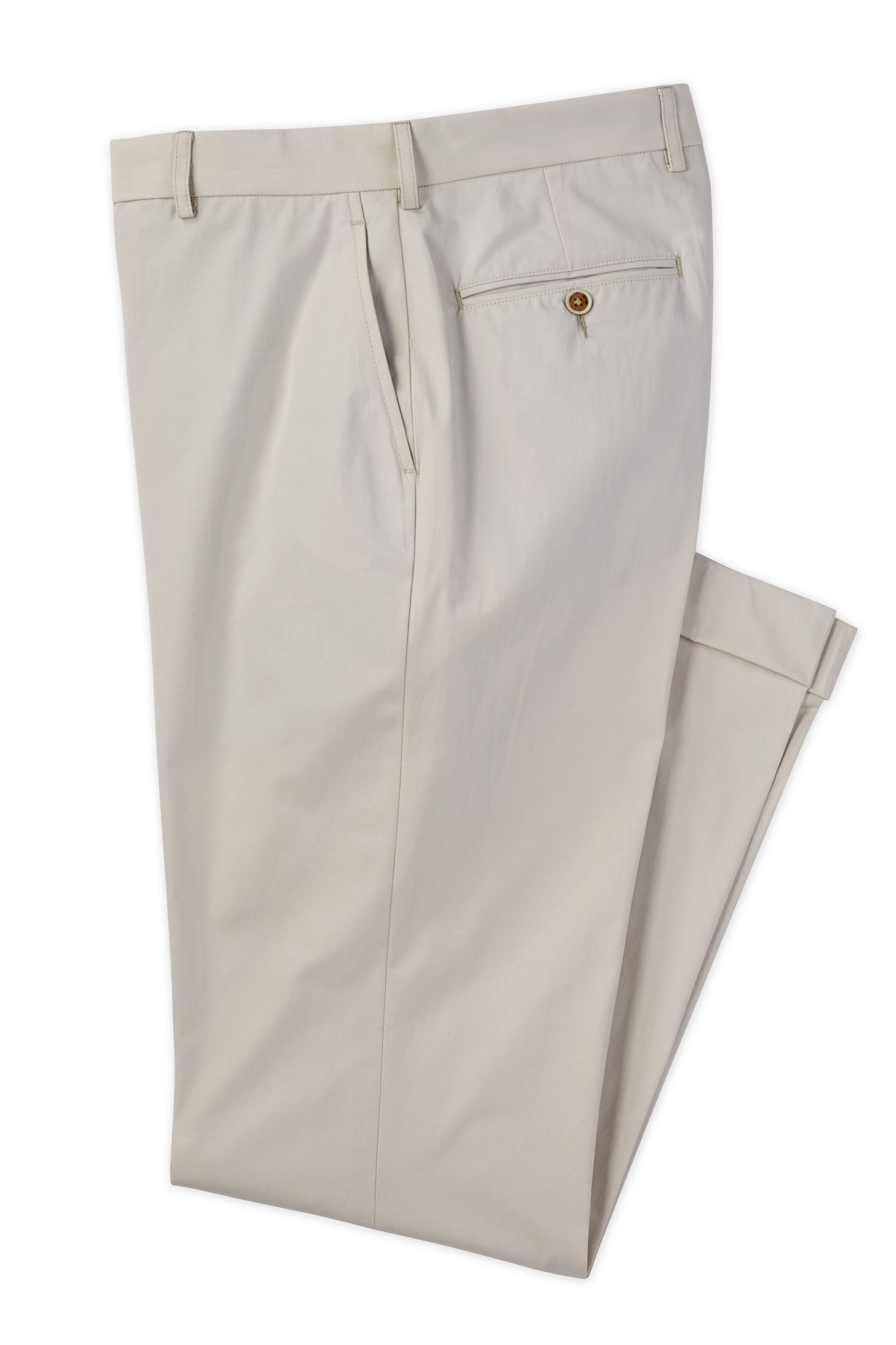 Modern Fit King Cotton Stone Khaki Pant -  Hardwick.com