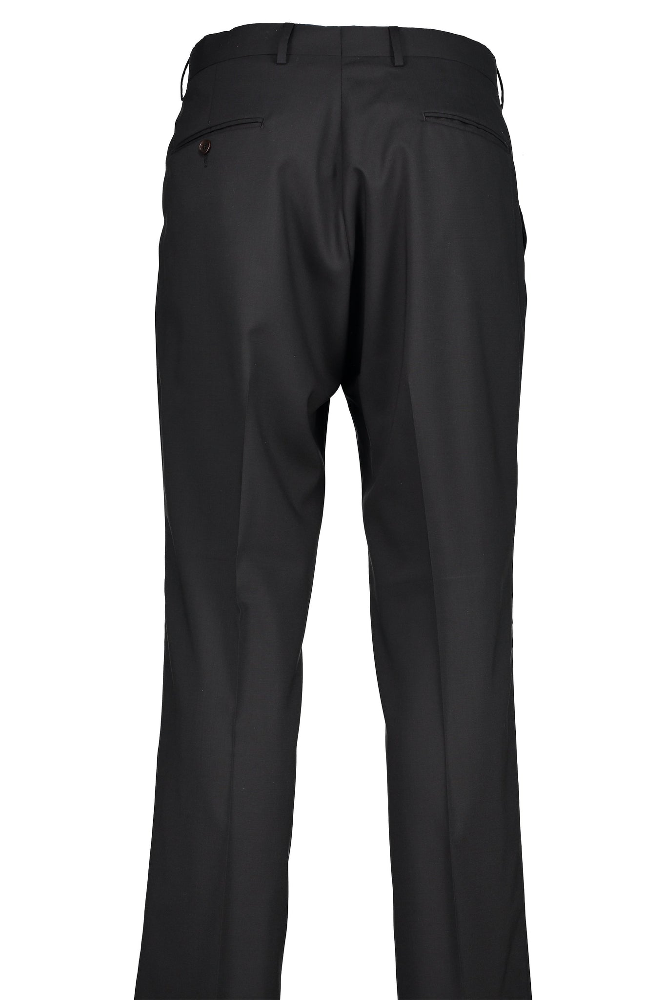 Classic Fit Black H-Tech Wool Suit Separate Pleated Pants -  Hardwick.com