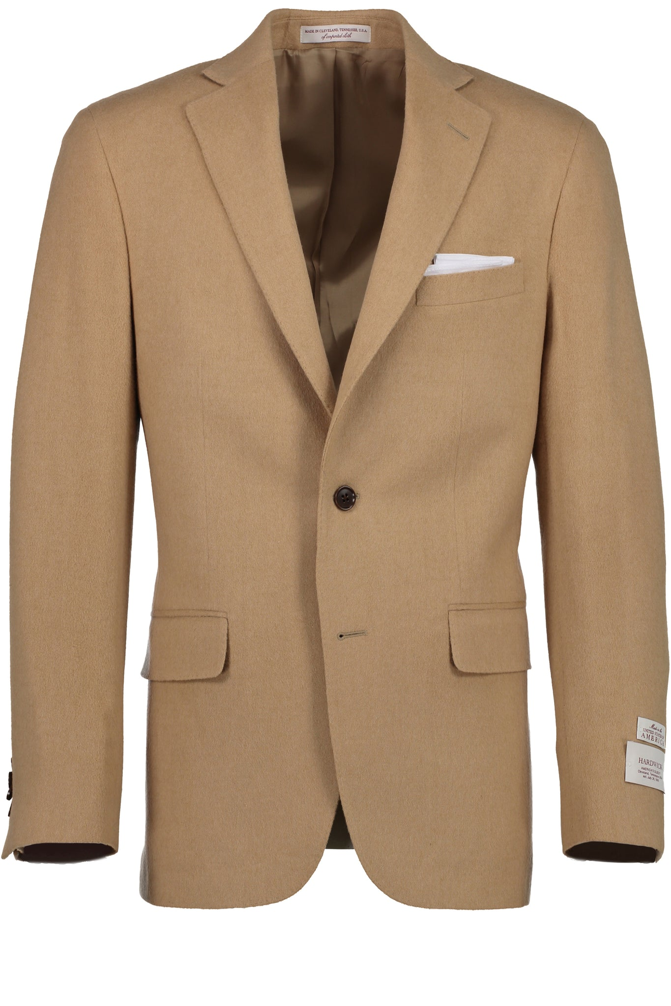 Modern Fit 100% Camel Hair Sport Coat -  Hardwick.com