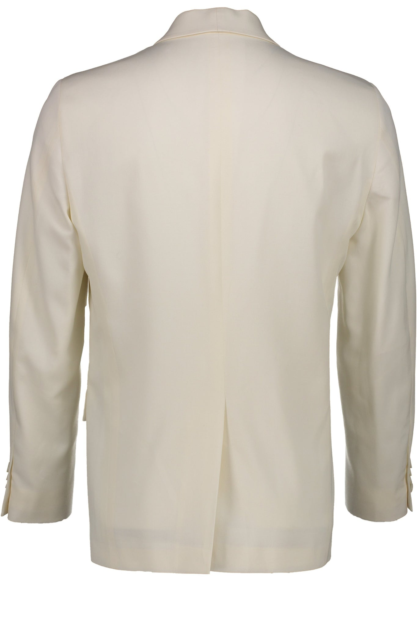 Classic Fit Ivory Wool Dinner Jacket with Cream Satin Shawl Collar -  Hardwick.com