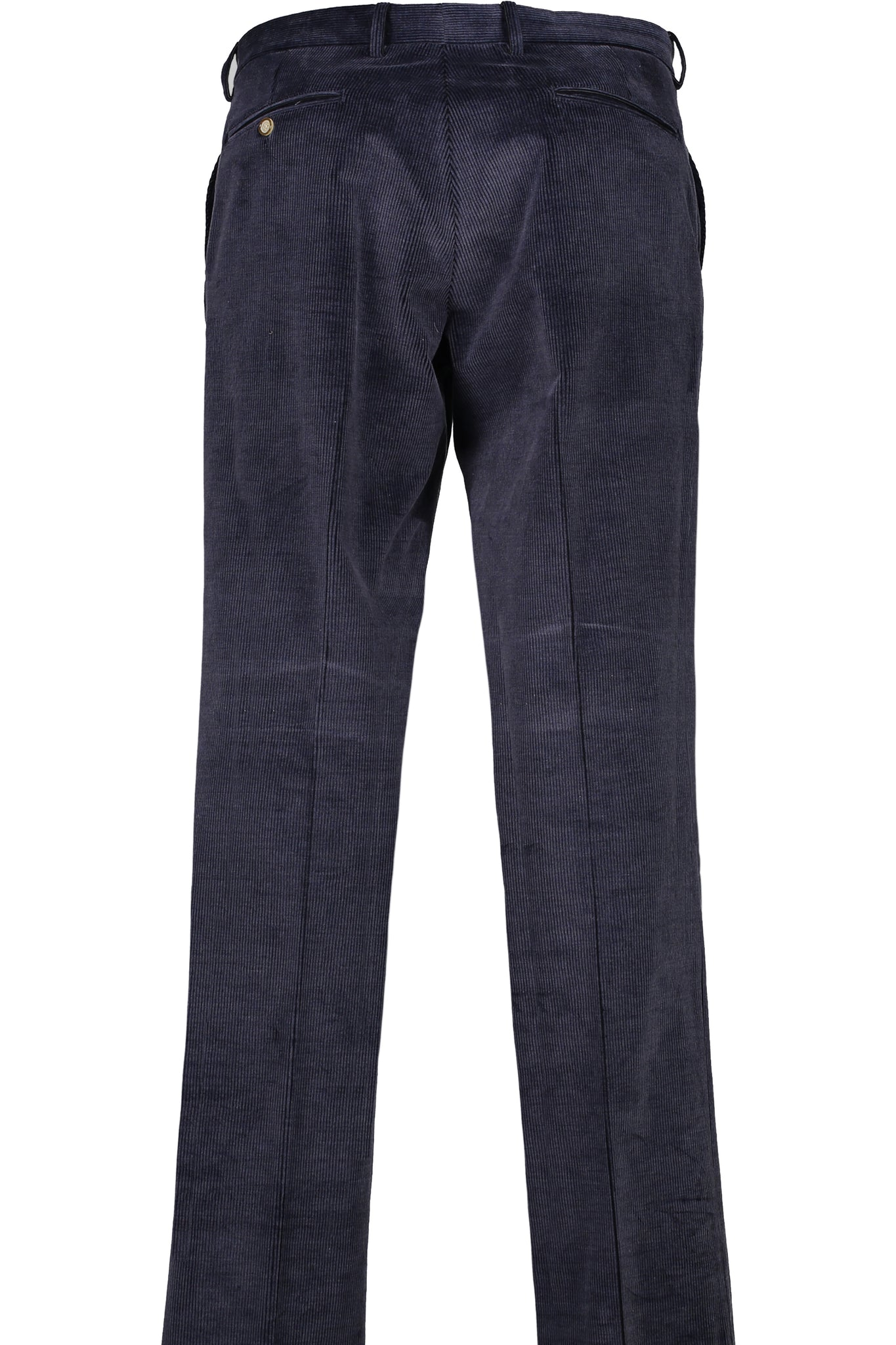 Modern Fit Navy Medium Wale Corduroy Flat Front Dress Pant -  Hardwick.com