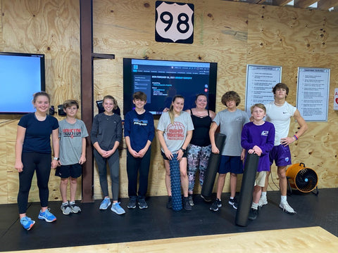 """SoWal CrossFit® offers a """"teen"""" specific CrossFit® class on Mondays, Wednesdays, and Fridays at 4:30 pm"""