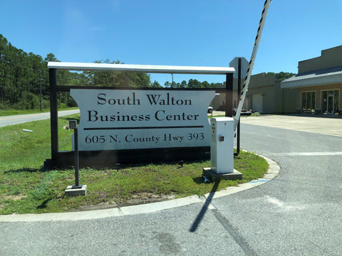 South Walton Business Center Sign