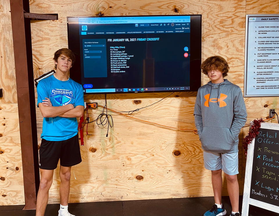 SoWal CrossFit® Offers A Teen Specific CrossFit® Class On Mondays, Wednesdays, & Friday At 4:30 PM, Teens Train In The Off Season Of Their Sport To Gain Agility, Endurance, Strength, And Most Importantly Have Fun!!!