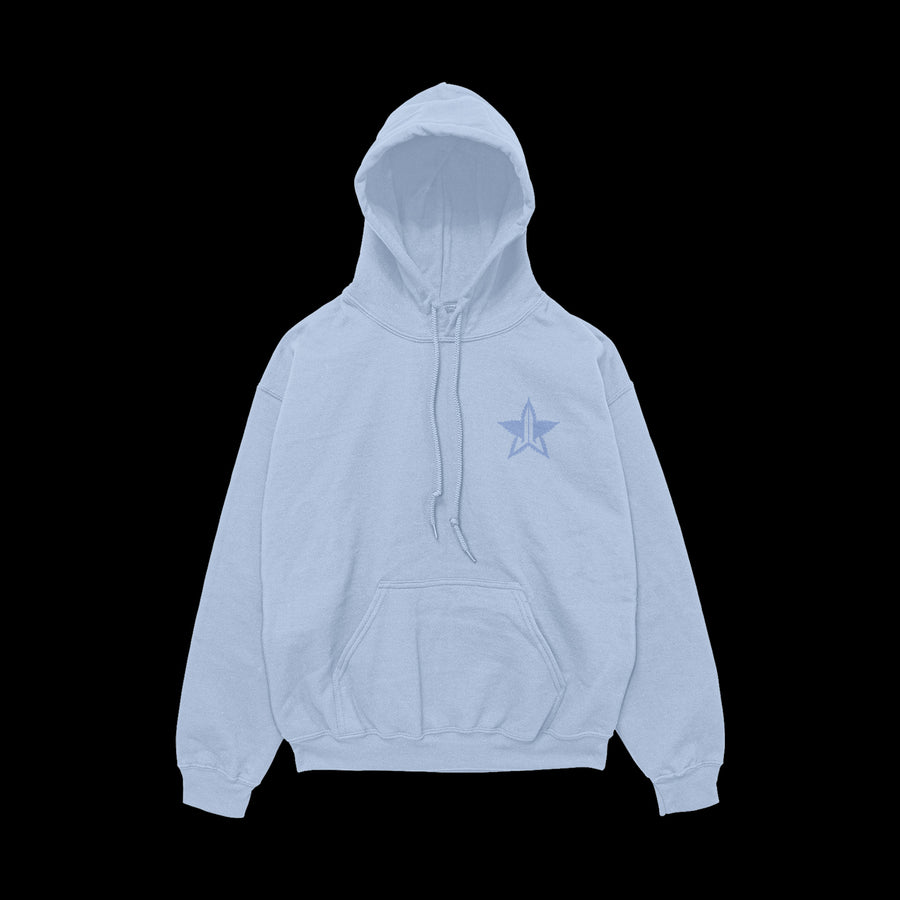 HIGH HOW ARE YA BABY BLUE HOODIE