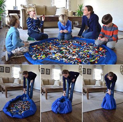 Portable Kids Toy Storage Mat
