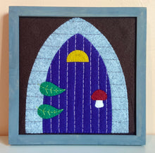 Load image into Gallery viewer, Fairy Door Felt Pattern (digital, PDF)