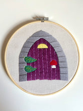 Load image into Gallery viewer, Fairy Door Embroidery Pattern (digital, PDF)