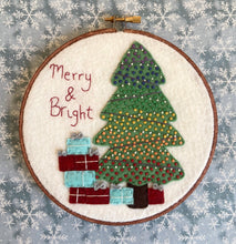 Load image into Gallery viewer, Merry and Bright Hoop