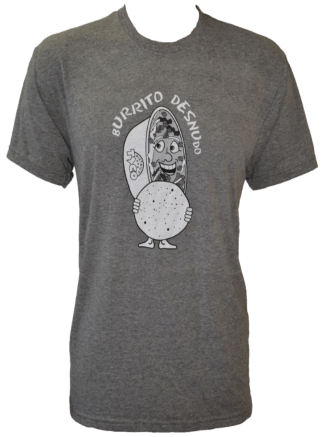 T Shirt - Burrito Desnudo - District Taco