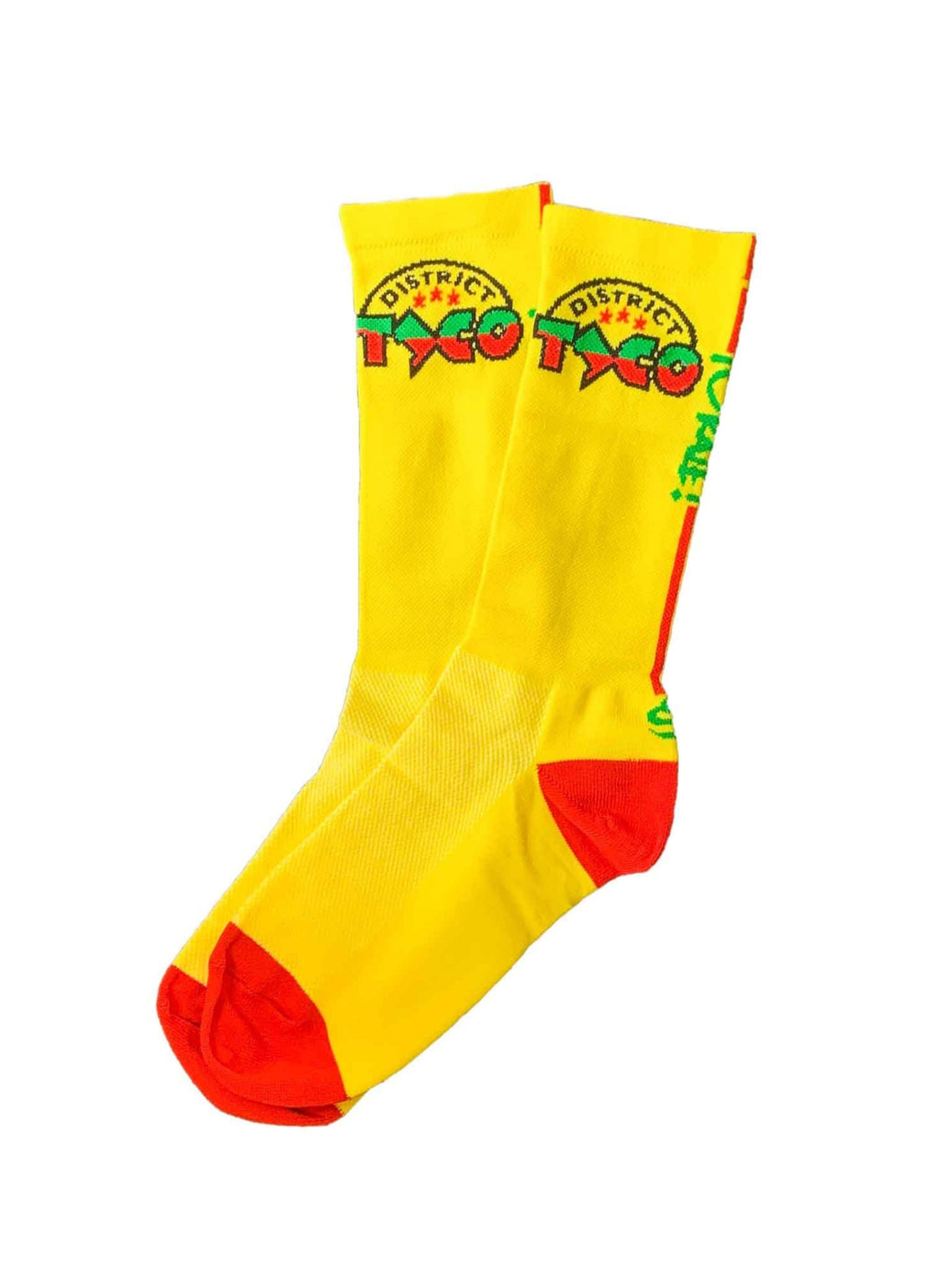 Socks - Yellow - District Taco