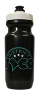 Water Bottle - Black 21 oz. - District Taco