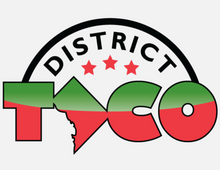 Load image into Gallery viewer, Sticker - District Taco