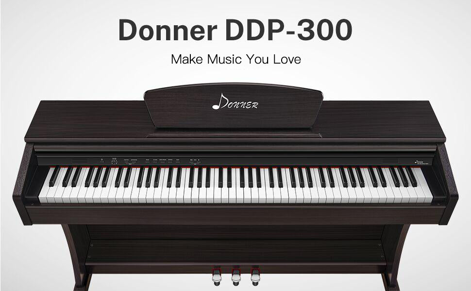 Donner-DDP-300-Full-Weighted-88-Key-Digital-Piano