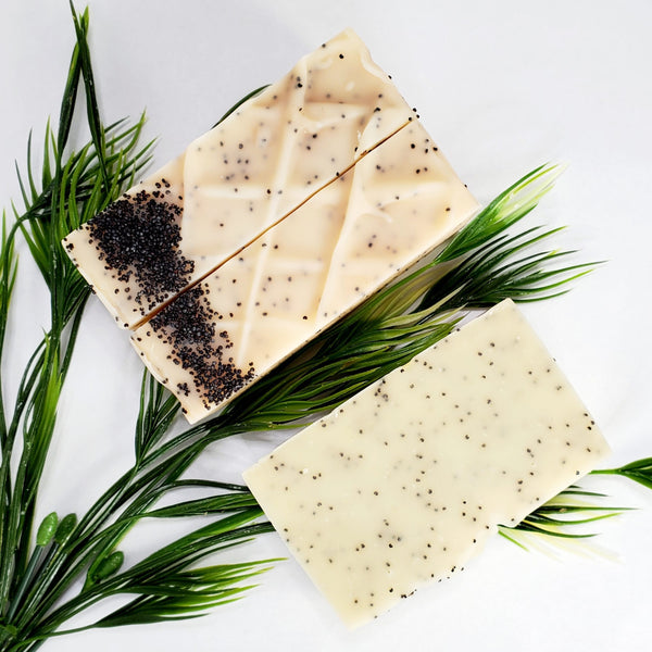 Lemon Poppy Soap Bar