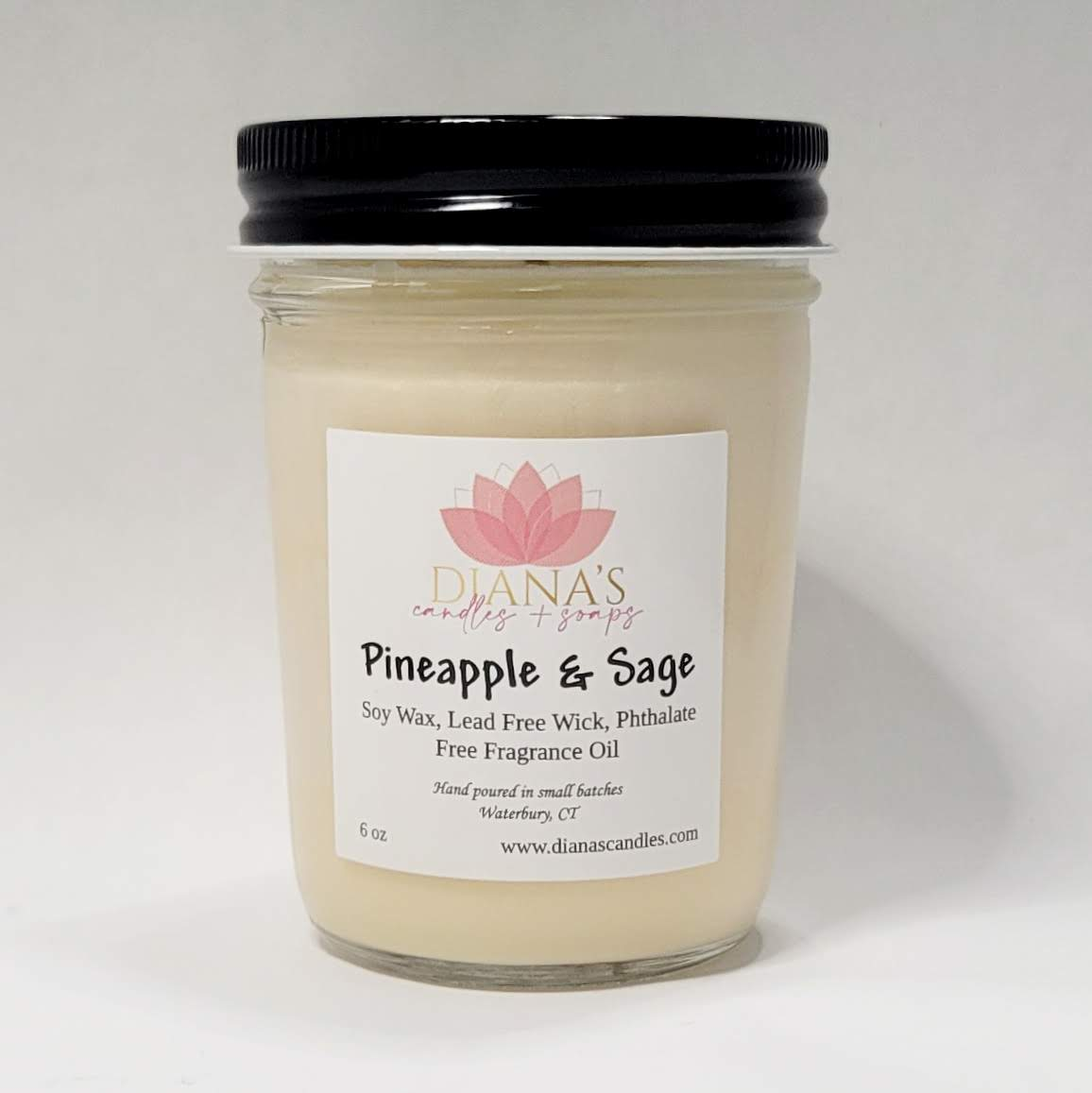 Pineapple & Sage Jar Candle