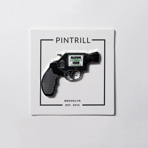 Trust The Shooter x Pin Trill  - Revolver Pin