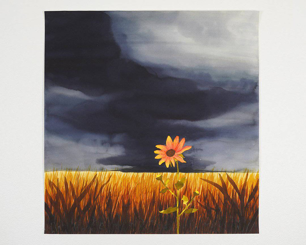 Carol | Stormy Fields Collection | SOLD - Jordan McDowell - art print - painting - home decor